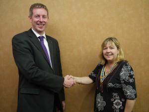 Stuart's handover to Lynne