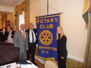 Rotary Washington DC Feb 2012